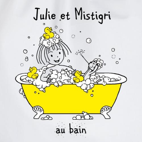 Julie et Mistigri au bain - Sac de sport léger