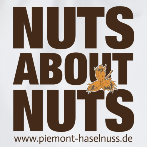 nuts about nuts - Turnbeutel