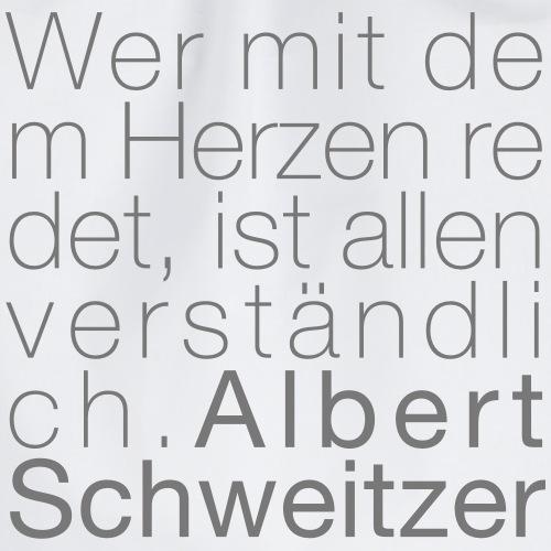 Albert Schweitzer - Turnbeutel