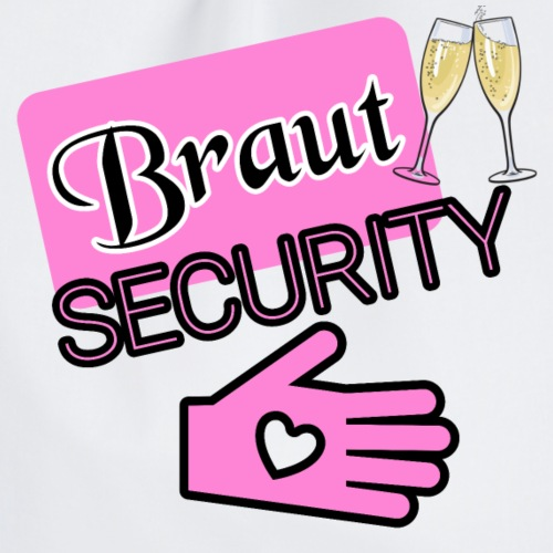 Braut SECURITY - Turnbeutel
