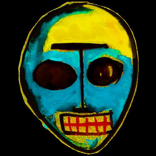 Urmaske - Maske die Erste - Turnbeutel