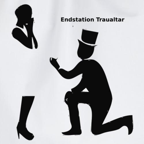 Endstation Traualtar - Turnbeutel