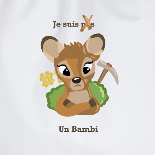 Je suis un bambi - Sac de sport léger