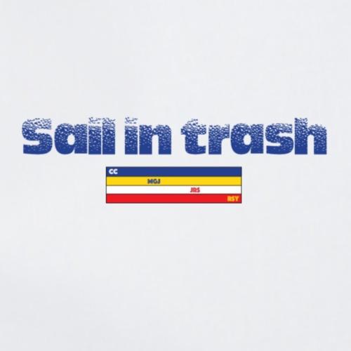 SAIL IN TRASH LOGO AZUL - Mochila saco
