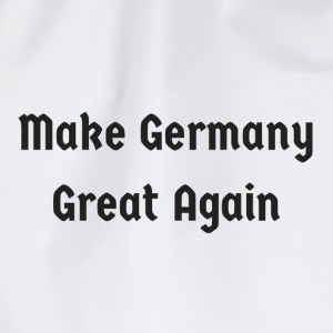 Make_Germany_Great_Again - Drawstring Bag