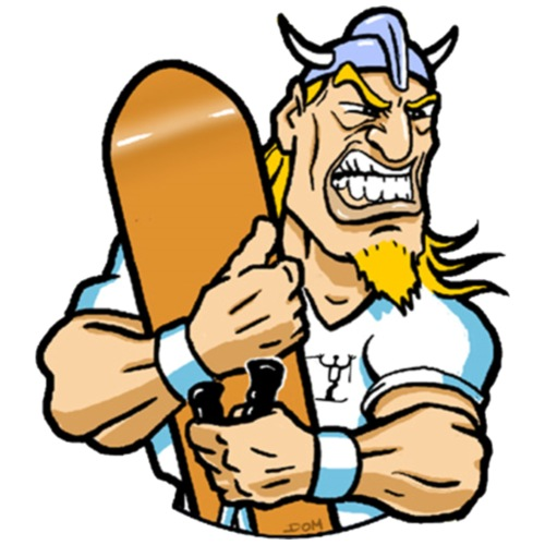 DOM Viking - Gymnastikpåse