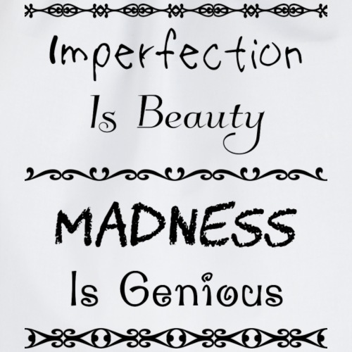 Imperfection Is Beauty (black)