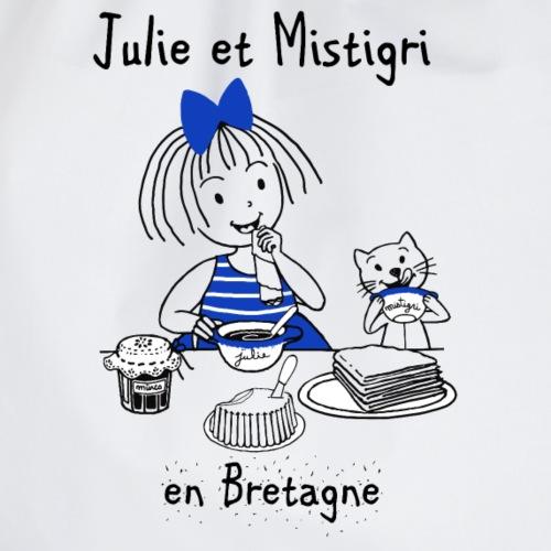 Julie et Mistigri en Bretagne - Sac de sport léger