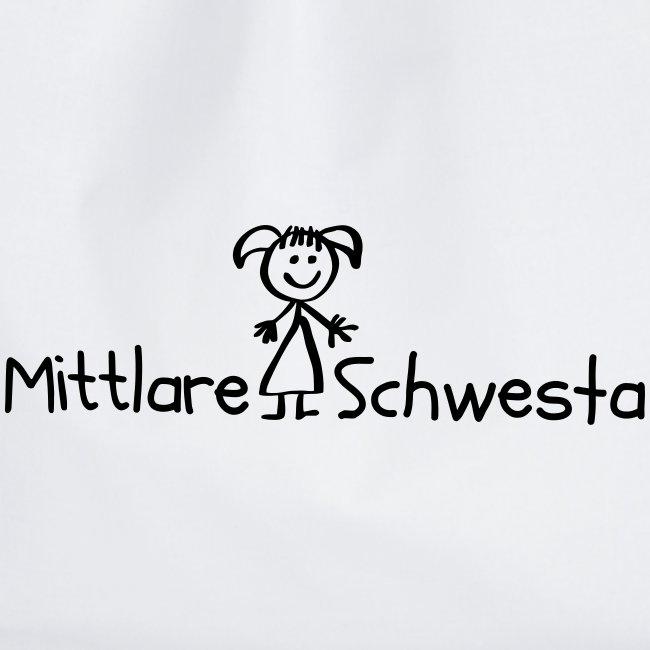 Vorschau: Mittlare Schwesta - Turnbeutel