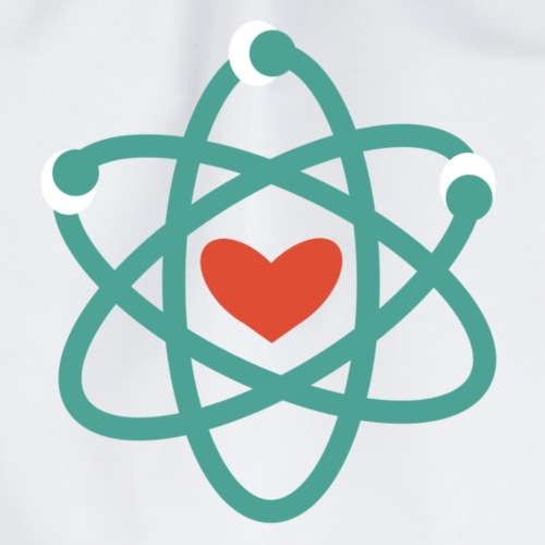 We love science! - Turnbeutel