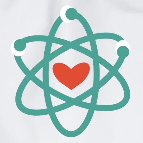 We love science! - Turnbeutel