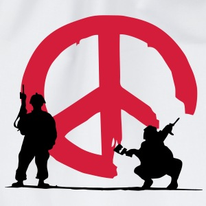 peace not war - Turnbeutel