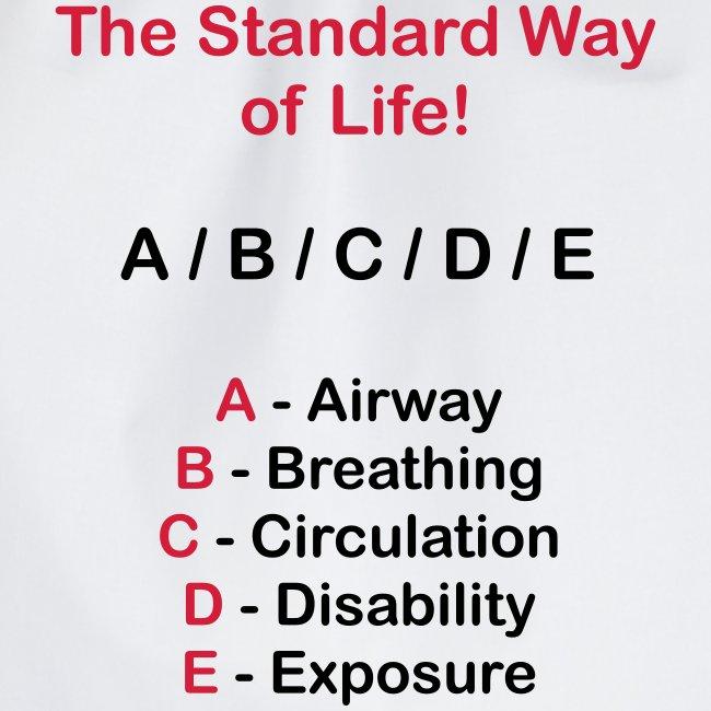 Rettungsdienst ABC Schema