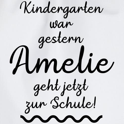 Kindergarten war gestern (Amelie) - Turnbeutel