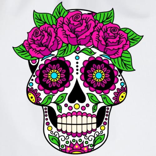 Skully Flower Head - Skuss for Peace - Turnbeutel