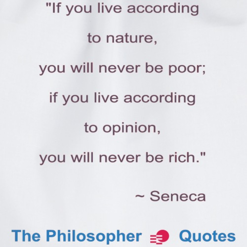 Seneca Living according to opinion Philosopher b - Gymtas