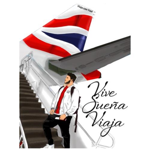 Vive sueña viaja by Viaja con Yoel - Mochila saco