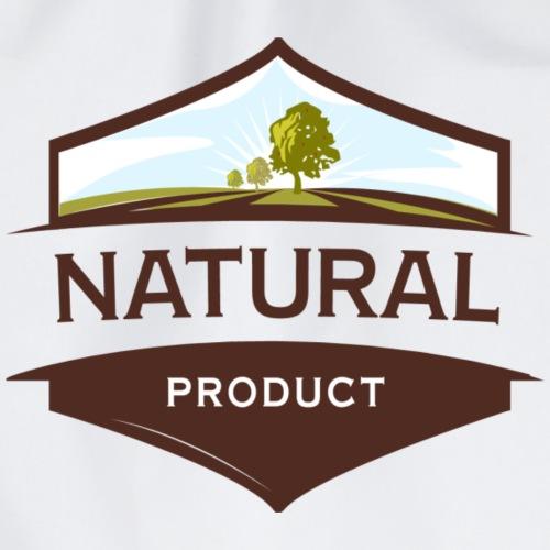 Natural - Drawstring Bag