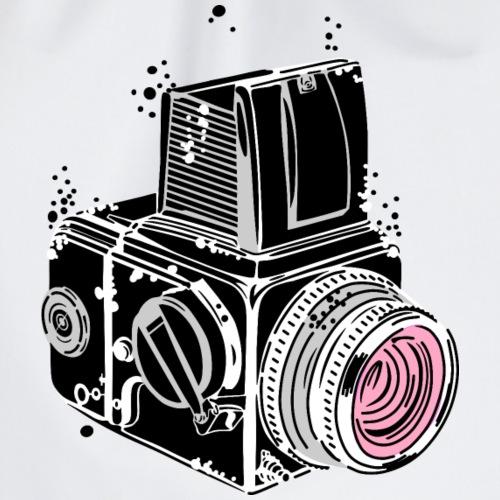 Desintegrating camera - Drawstring Bag