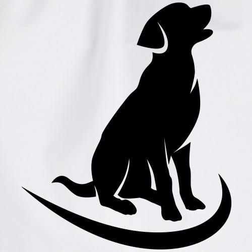 siluetta perro - Mochila saco