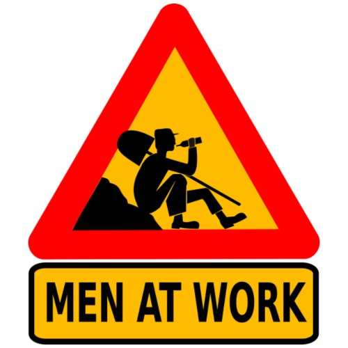 Men At Work - Turnbeutel