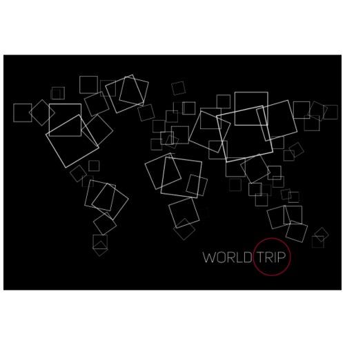 Map World Trip - Sac de sport léger