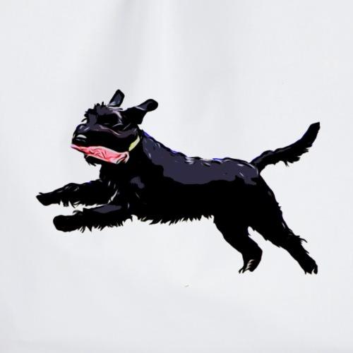 Schnauzer in Aktion! Hunde - Turnbeutel