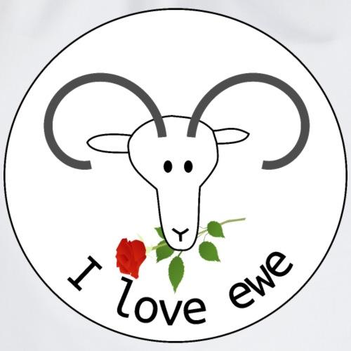 love ewe - Turnbeutel
