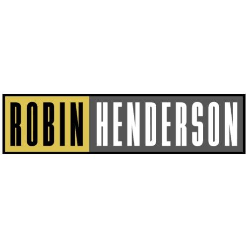 Robin Henderson Merch Der Schriftzug - Turnbeutel