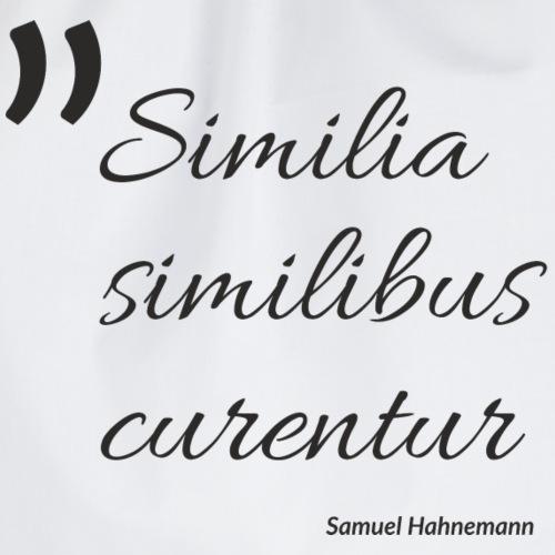 Similia similibus curentur Print - Turnbeutel