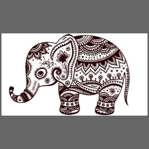 Your-Child Mandala Elefant - Sportstaske