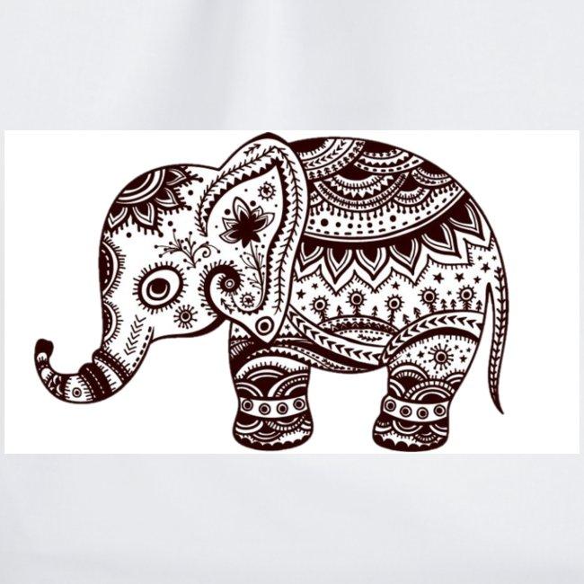 Your-Child Mandala Elefant