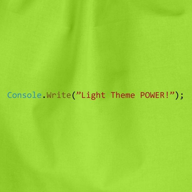 IDE Programming Light Theme C#