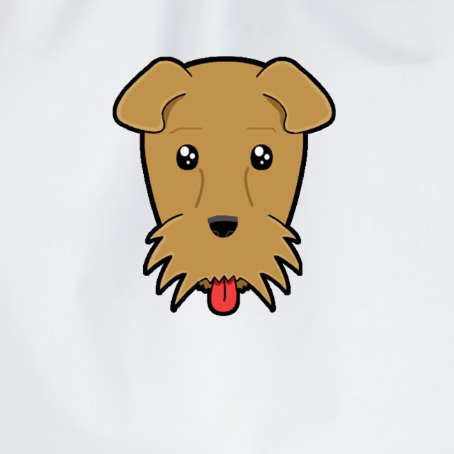 Shari the Airedale Terrier