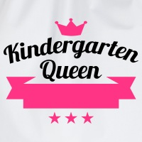 Kindergarten Queen - Turnbeutel