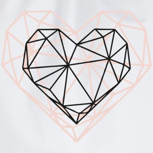 Herzgeometrie - Turnbeutel