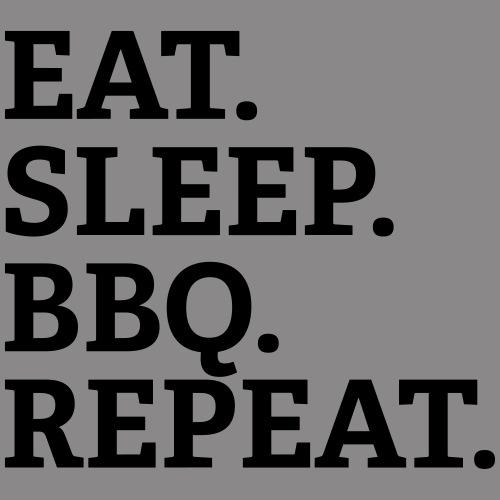 EAT SLEEP BBQ REPEAT - Turnbeutel