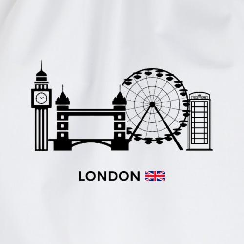 London - UK - Drawstring Bag