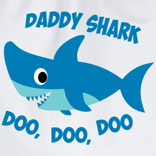 Daddy Shark - Drawstring Bag
