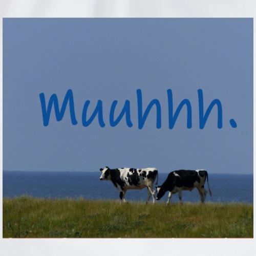Kühe auf Deich - Turnbeutel