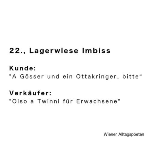 Wiener Alltagspoeten_Twinni für Erwachsenen - Turnbeutel