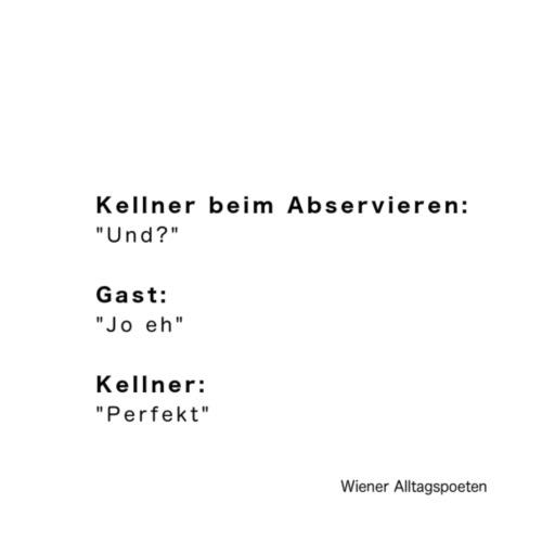 Wiener Alltagspoeten_Und Jo eh - Turnbeutel