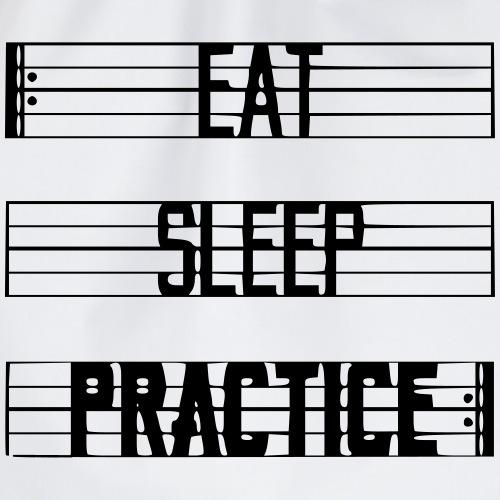 Eat Sleep Practice - Gymtas