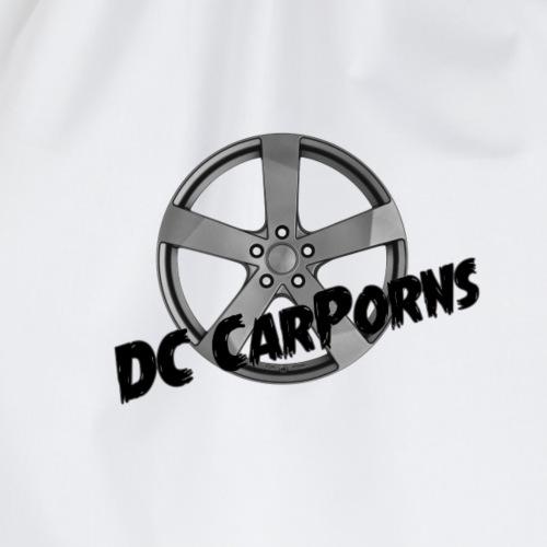 DC CarPorns Logo Felge schwarz - Turnbeutel