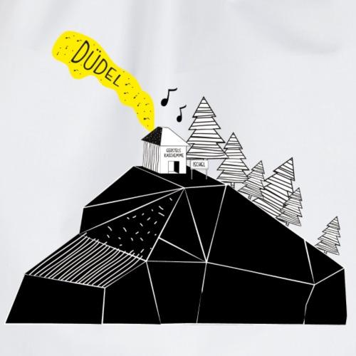 Ischgl Skihütte. Musik. Berge.
