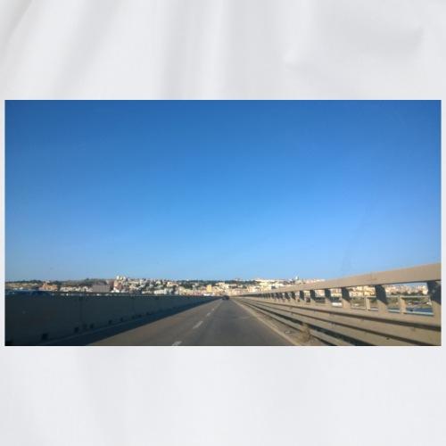panorama stradale andando a Cagliari - Sacca sportiva
