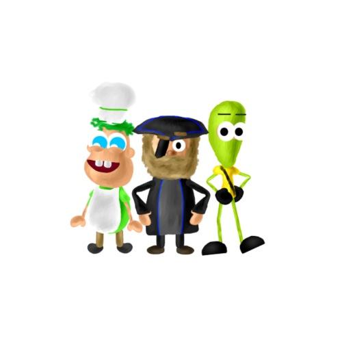 BombStory - Main Characters