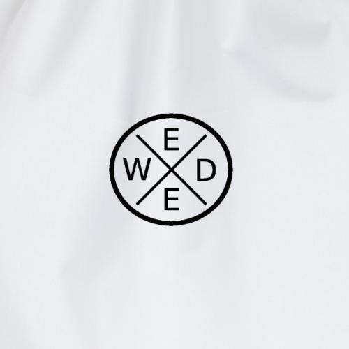 W-E-E-D Logo - Turnbeutel
