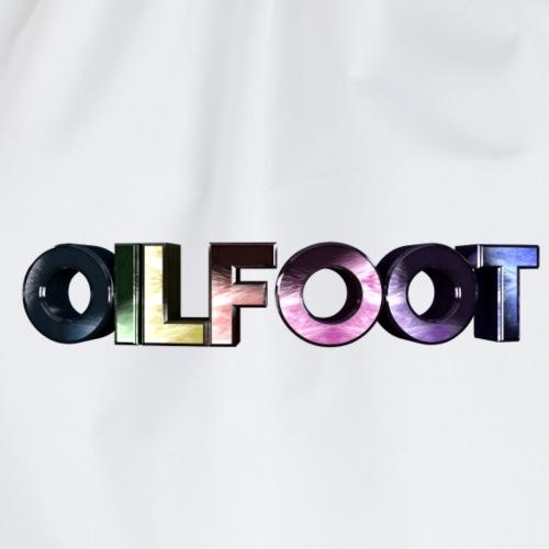 oilfoot text - Turnbeutel