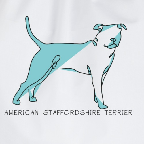American staffordshire terrier - Gymnastikpåse